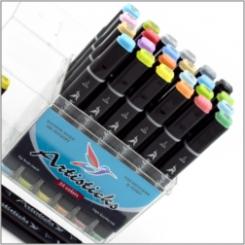 Наборы маркеров 24 цвета