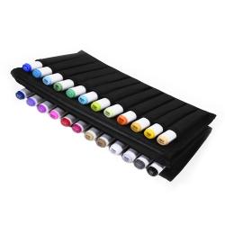 Набор маркеров для скетчинга Artisticks Style в сумке-органайзере, CASE 24 цвета