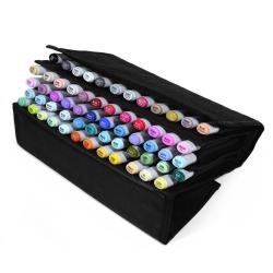 Набор маркеров для скетчинга Artisticks Style в сумке-органайзере, CASE 60 цветов