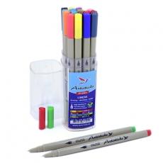 Набор капиллярных художественных ручек - линеров Artisticks LINER 300 Box, 16 цветов