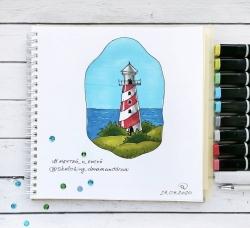 Профессиональные художественные маркеры для скетчинга и рисования Artisticks Style SKIN, 12 цветов, 2-сторонние, 1-6 мм